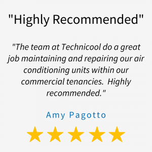 Technicool Air Conditioning Commercial Air Conditioning Client Testimonial